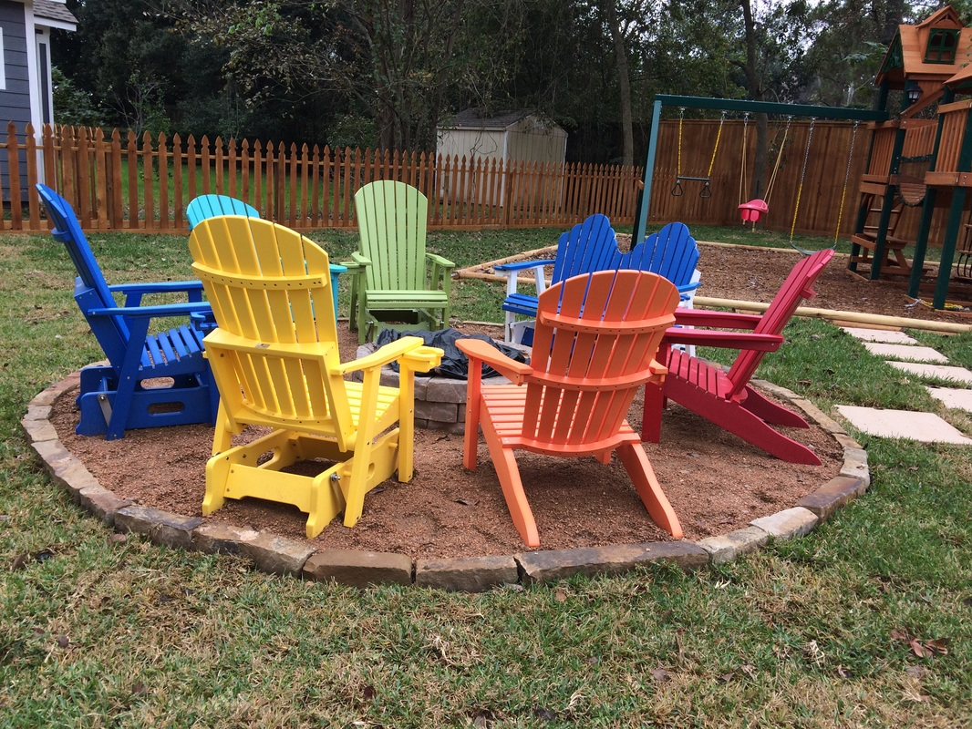 Want A Really Fun Fire Pit, We Can Help With Bright And Comfortable Chairs!