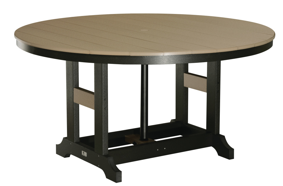 60 Quot Round Dining Tables Counter Height