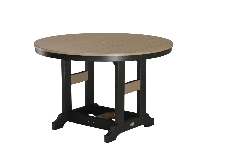 48 round dining tables counter height. Black Bedroom Furniture Sets. Home Design Ideas